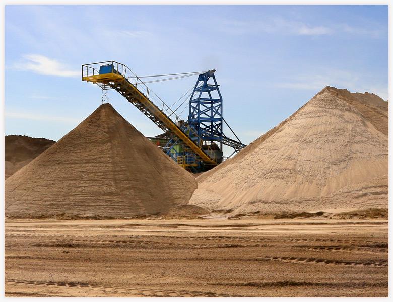ab areias mineracao