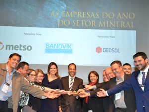 empresas do ano no setor mineral